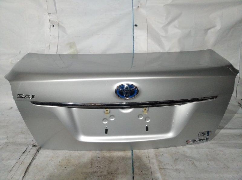 Крышка багажника Toyota Sai AZK10 2AZ-FXE 2011.07 (б/у)