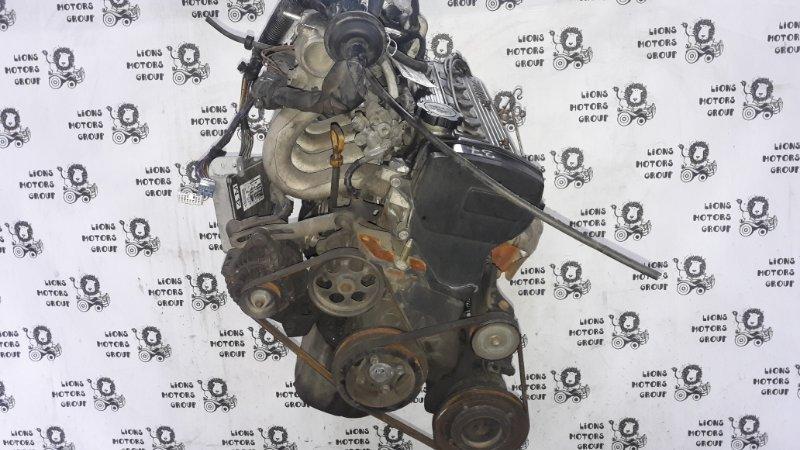 Двигатель Toyota Tercel EL51 4E-1655845 1995 (б/у)