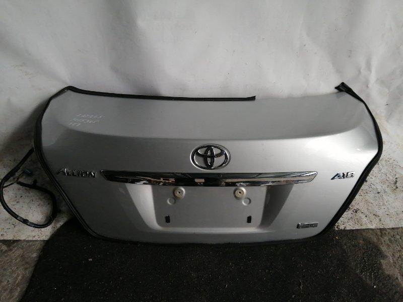 Крышка багажника Toyota Allion ZRT265 задняя (б/у)