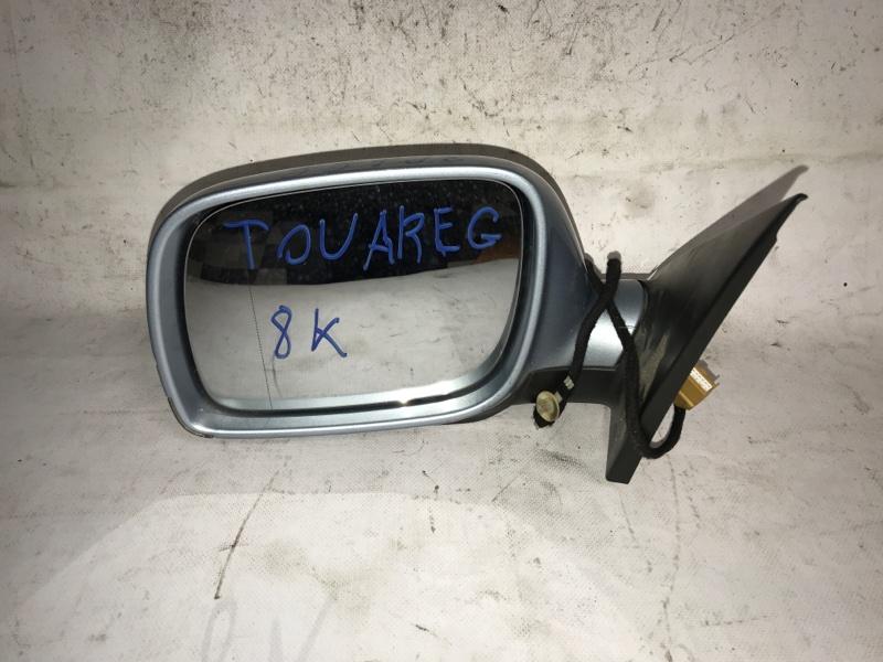 Зеркало Volkswagen Touareg 7LA 2004 переднее левое (б/у)