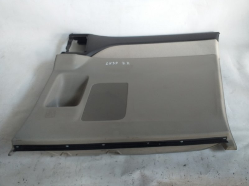 Обшивка дверей Mazda Mpv LY3P задняя правая (б/у)