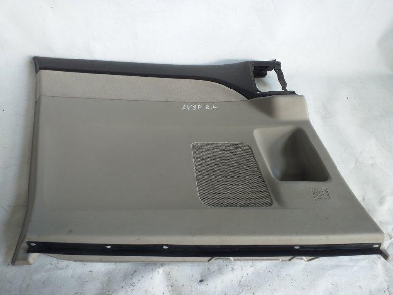 Обшивка дверей Mazda Mpv LY3P задняя левая (б/у)