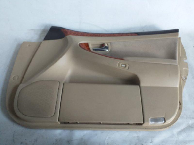 Обшивка дверей Toyota Crown GRS183 передняя правая (б/у)