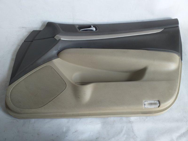 Обшивка дверей Nissan Skyline NV36 передняя правая (б/у)