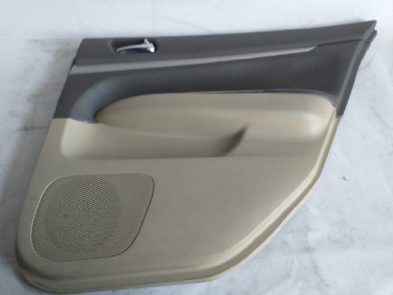 Обшивка дверей Nissan Skyline NV36 задняя правая (б/у)