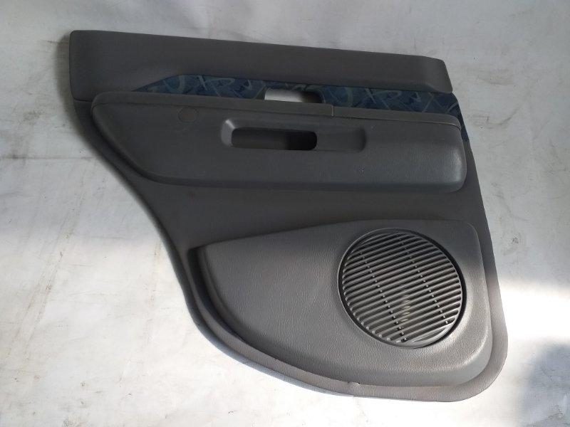 Обшивка дверей Nissan Terrano TR50 задняя левая (б/у)