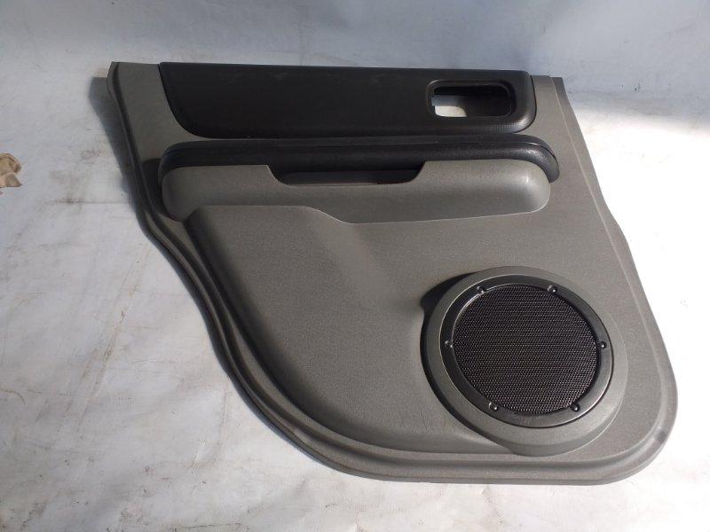 Обшивка дверей Nissan X-Trail NT30 задняя левая (б/у)