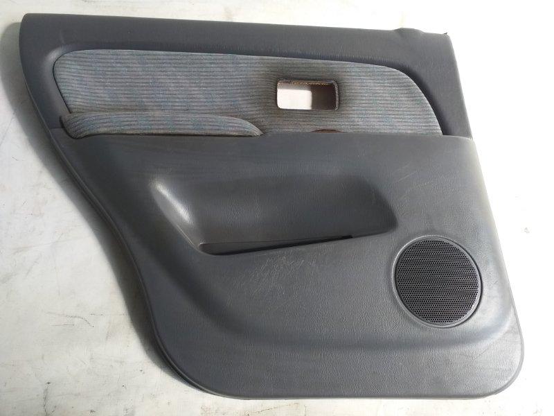 Обшивка дверей Toyota Hilux Surf VZN185 задняя левая (б/у)