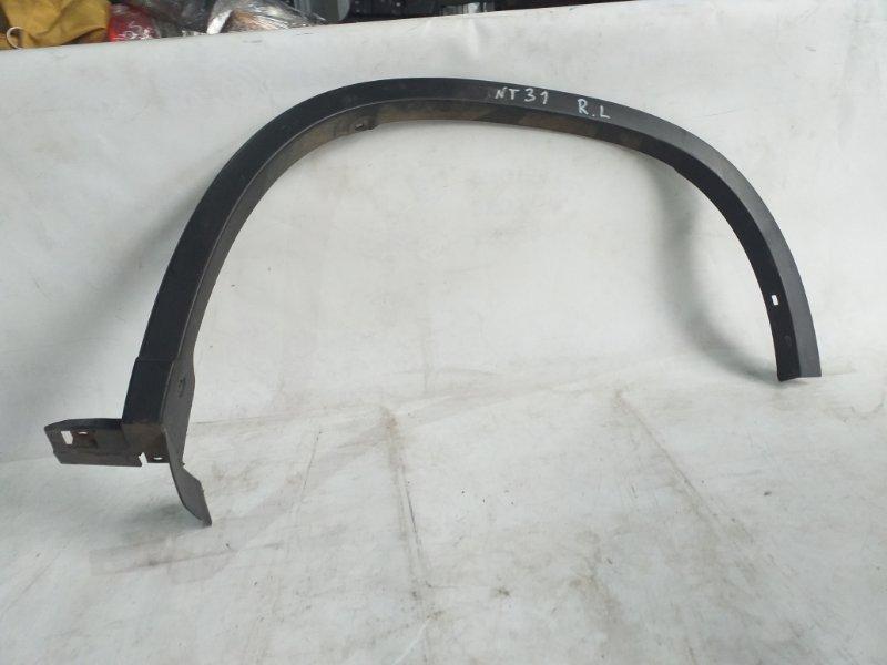 Дефендер Nissan X-Trail NT31 задний левый (б/у)