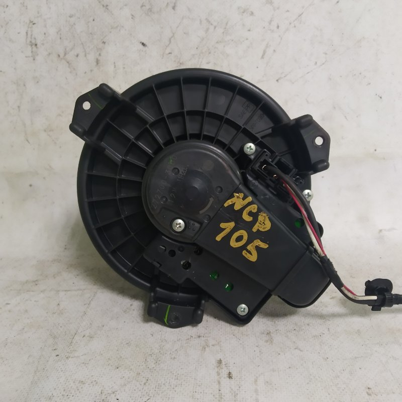 Мотор печки Toyota Ractis NCP105 1NZ-FE 2006.11 (б/у)