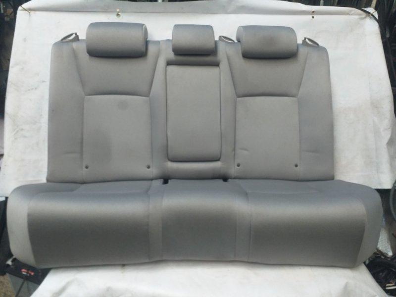 Сидение Toyota Sai AZK10 2AZ-FXE 2011.07 заднее (б/у)