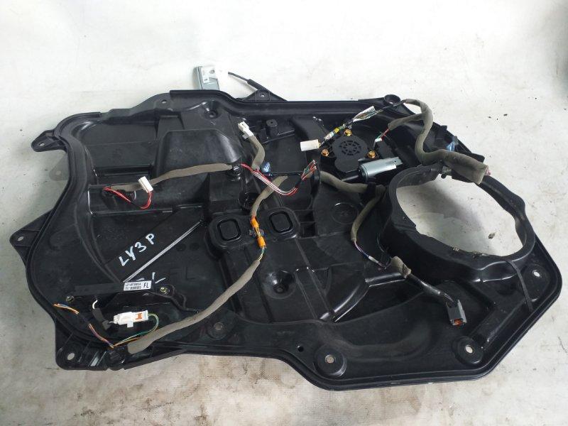 Стеклоподъемник Mazda Mpv LY3P передний левый (б/у)
