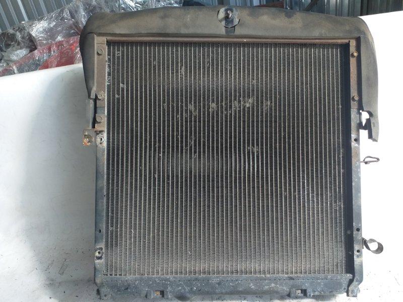 Радиатор двс Mitsubishi Canter FE637E FE638 FE639 FE648 FE649 FE652 FE658 FE659 FE662 FE668 FE669 4M51 4D33 4D34T 4D35 (б/у)