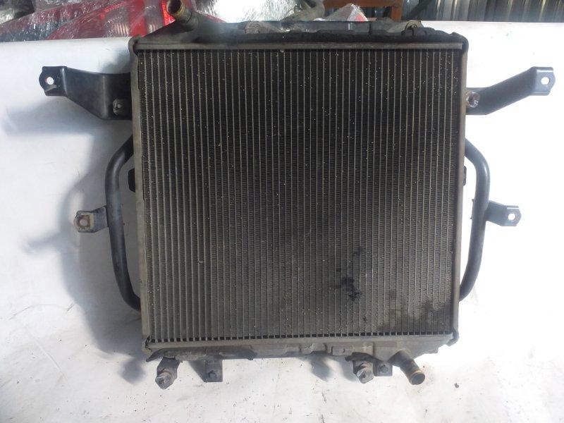 Радиатор двс Toyota Hiace KZH106 (б/у)