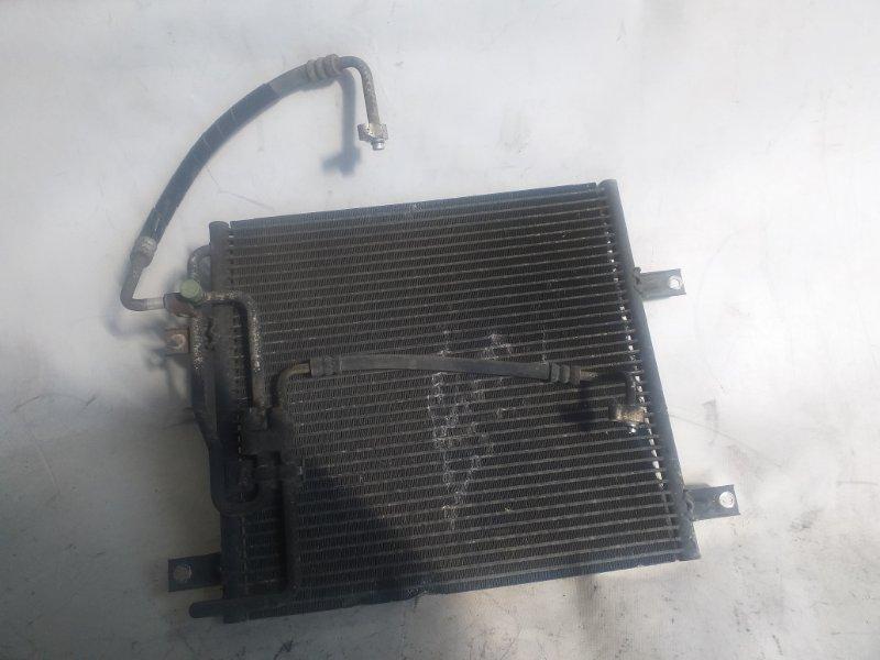 Радиатор кондиционера Mitsubishi Canter FE637E FE638 FE637 FE639 FE648 FE649 FE652 FE658 FE659 FE662 FE668 FE669 (б/у)