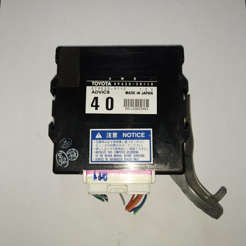 Блок управления 4wd Toyota Crown GRS183 3GR-FSE 2004.12 (б/у)
