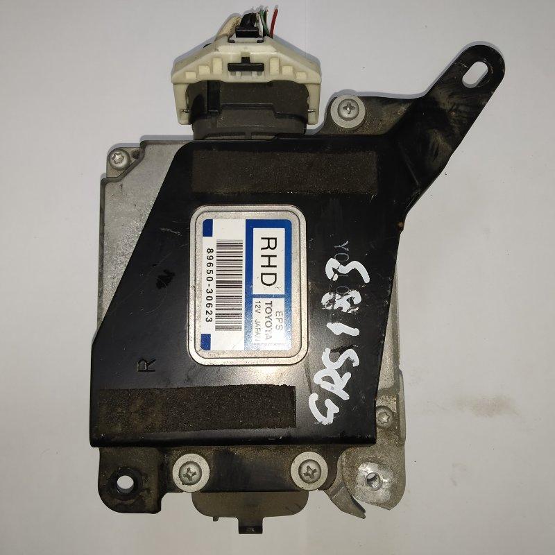 Блок управления рулевой рейкой Toyota Crown GRS183 3GR-FSE 2004.12 (б/у)
