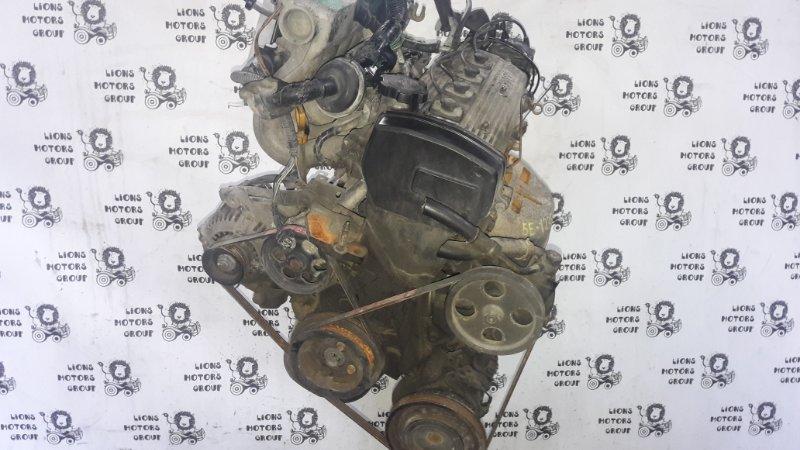 Двигатель Toyota Tercel EL53 5E-1235627 (б/у)