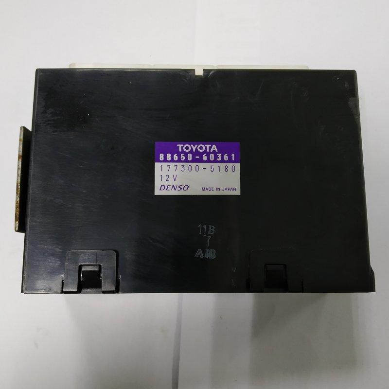 Блок управления кондиционером Toyota Land Cruiser UZJ100 2UZ-FE 2000.11 (б/у)