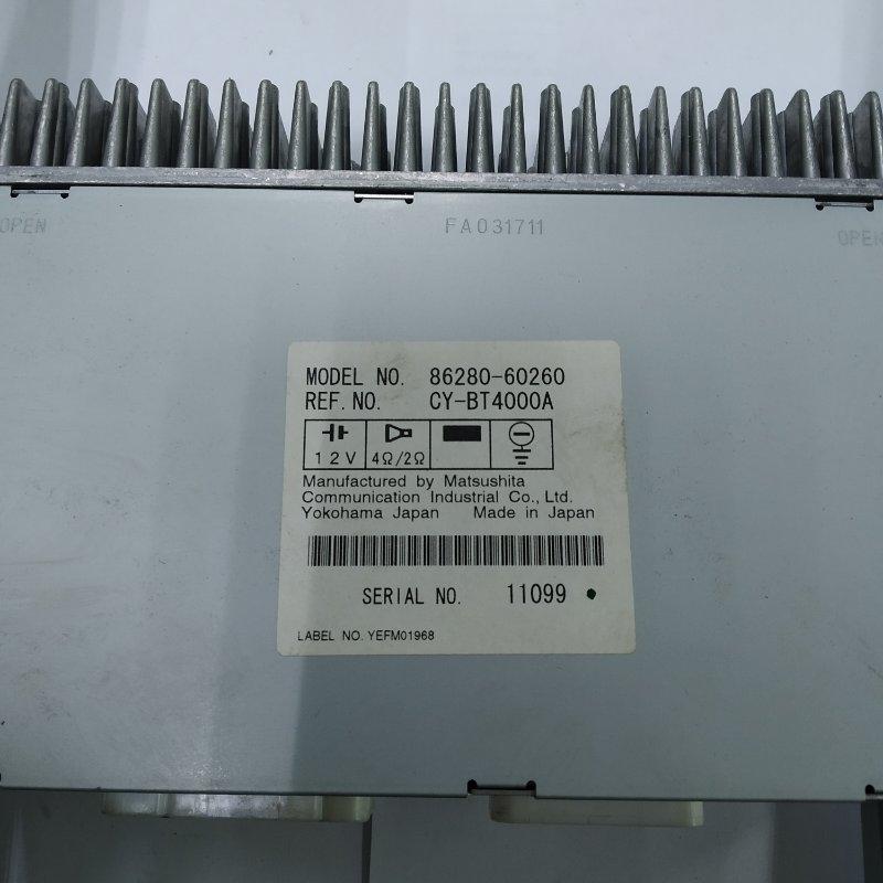 Усилитель магнитофона Toyota Land Cruiser UZJ100 2UZ-FE 2000.11 (б/у)