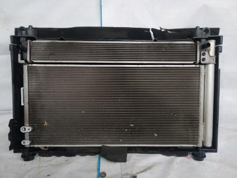 Радиатор двс Toyota Prius ZVW30 2ZR-FXE 2012.07 (б/у)