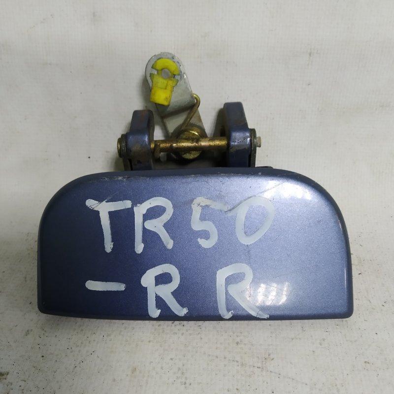 Ручка двери Nissan Terrano Regulus TR50 ZD30DDTI задняя правая (б/у)