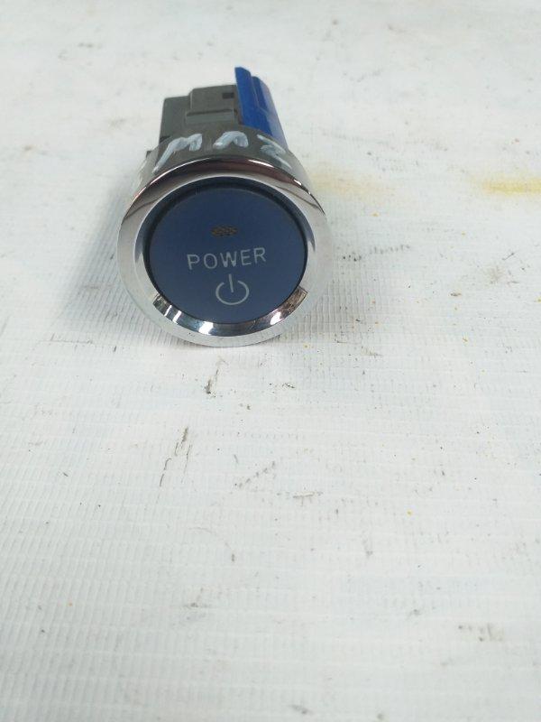 Кнопка пуска двигателя Toyota Prius ZVW30 2ZR-FXE 2012.07 (б/у)