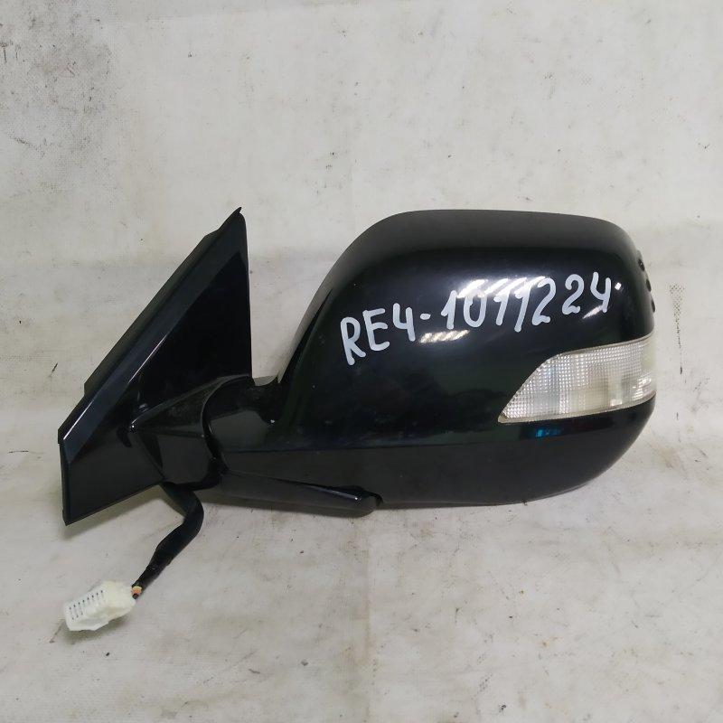 Зеркало Honda Crv RE4 K24A переднее левое (б/у)