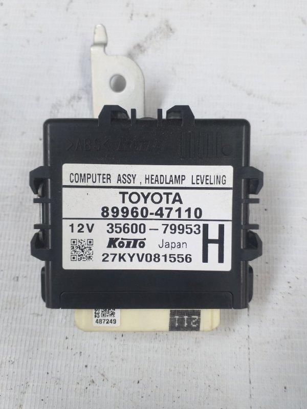 Блок управления Toyota Prius ZVW30 2ZR-FXE 2012.07 (б/у)