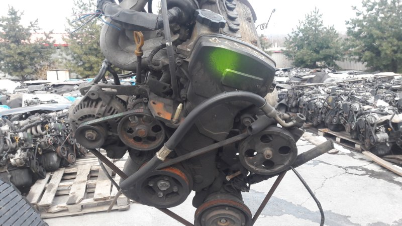 Двигатель Toyota Tercel EL53 5E-0795369 1995 (б/у)
