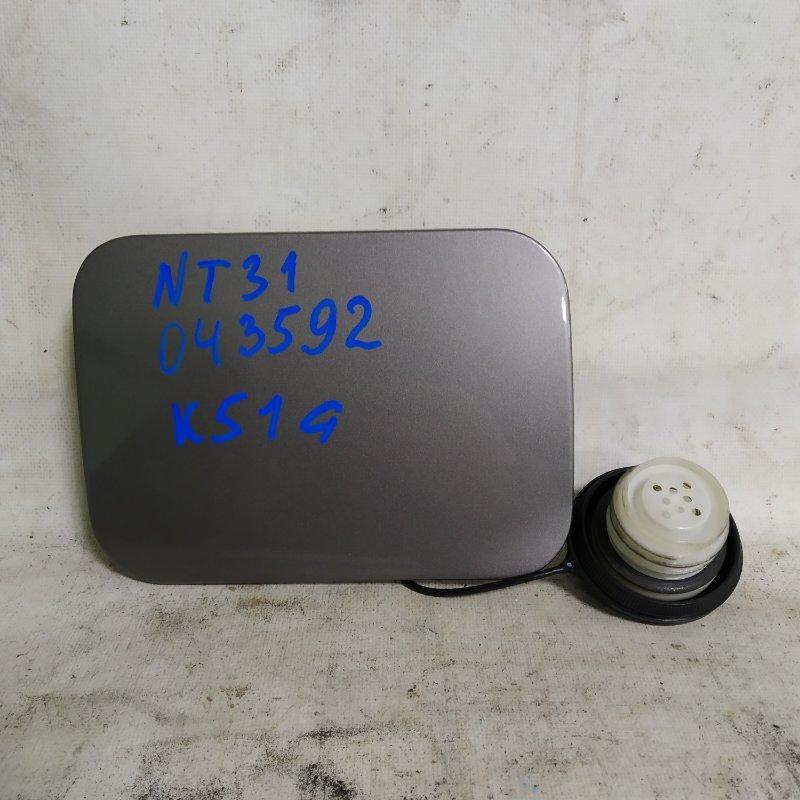 Лючок бензобака Nissan X-Trail NT31 MR20DE (б/у)