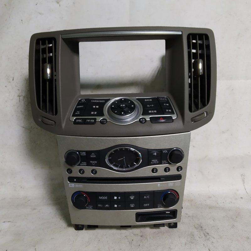 Блок управления климат-контролем Nissan Skyline NV36 VQ25 2008.08 (б/у)