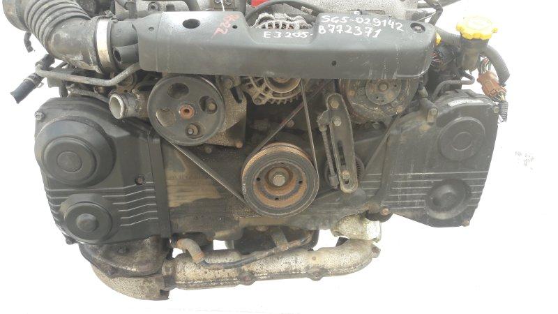 Двигатель Subaru Forester SG5 EJ205 2002.12 (б/у)