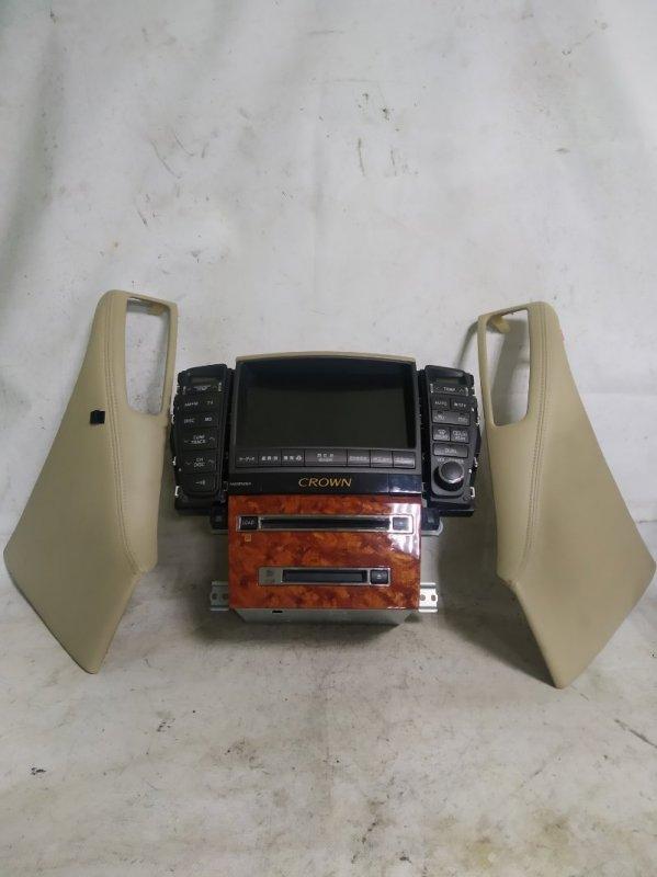 Блок управления климат-контролем Toyota Crown GRS183 3GR-FSE 2004.12 (б/у)