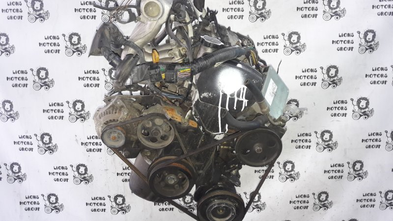Двигатель Toyota Tercel EL53 5E-0823449 1993 (б/у)
