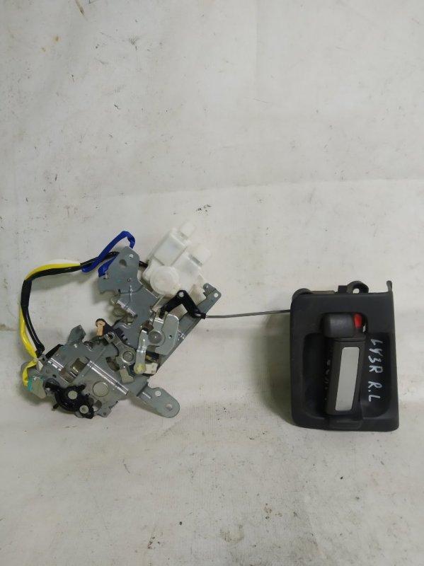 Ручка двери внутренняя Mazda Mpv LY3P L3VE задняя левая (б/у)