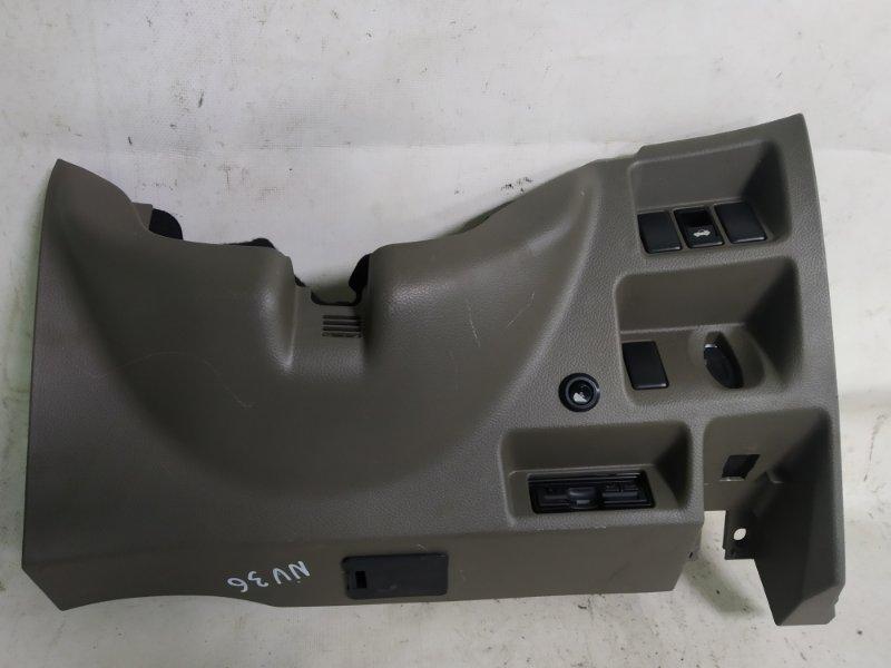 Пластик под руль Nissan Skyline NV36 VQ25 2008.08 (б/у)