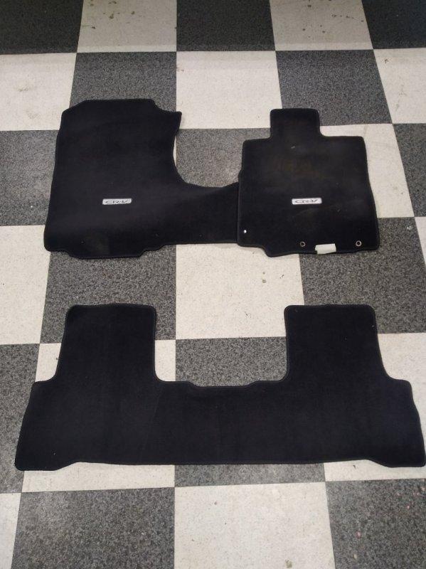 Коврики комплект Honda Crv RE4 K24A 2006 (б/у)