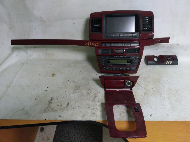Блок управления климат-контролем Toyota Mark 2 JZX110 1JZ-GTE 2001.11 (б/у)