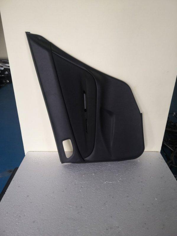 Обшивка дверей Mitsubishi Galant EC7A 2005 задняя правая (б/у)