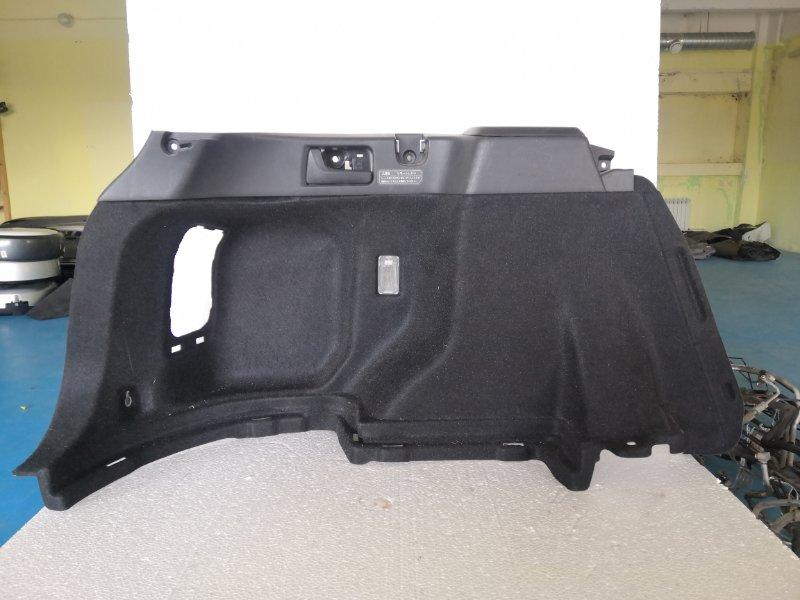 Обшивка багажника Toyota Corolla Axio NZE141 1NZ-FE задняя левая (б/у)
