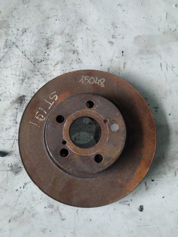 Тормозной диск Toyota Corona ST191 передний (б/у)