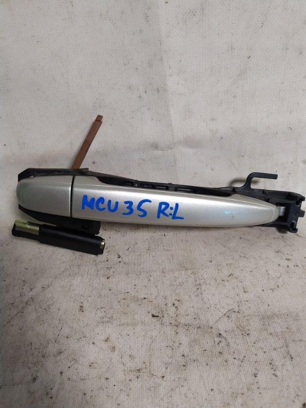 Ручка двери Toyota Harrier MCU35 задняя левая (б/у)