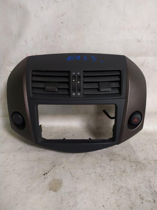 Консоль магнитофона Toyota Vanguard ACA33 (б/у)