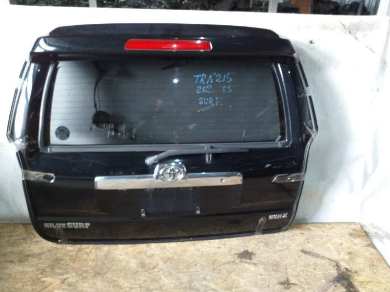 Дверь задняя Toyota Hilux Surf TRN215 2TR 2005 (б/у)