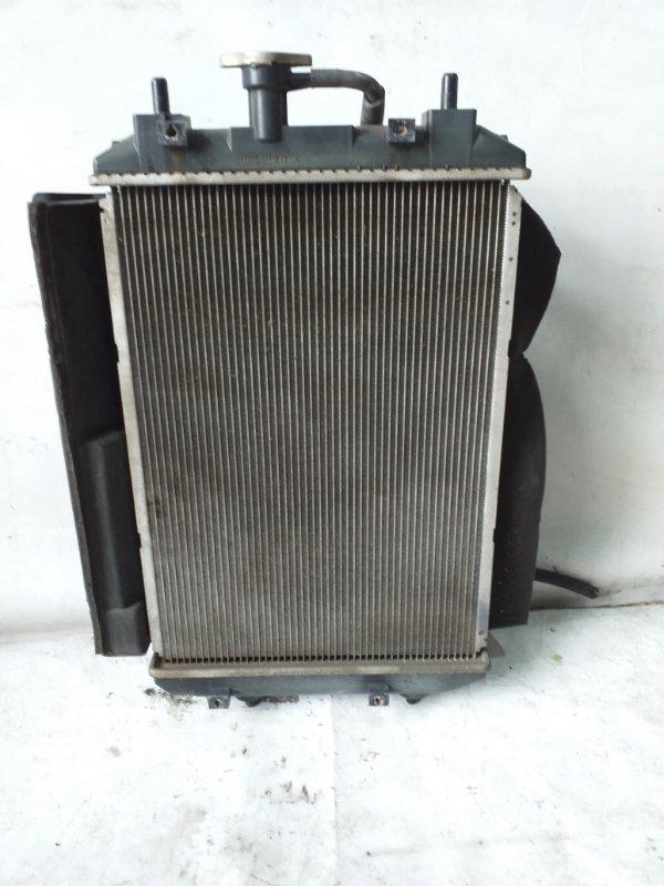 Радиатор двс Toyota Bb QNC25 (б/у)
