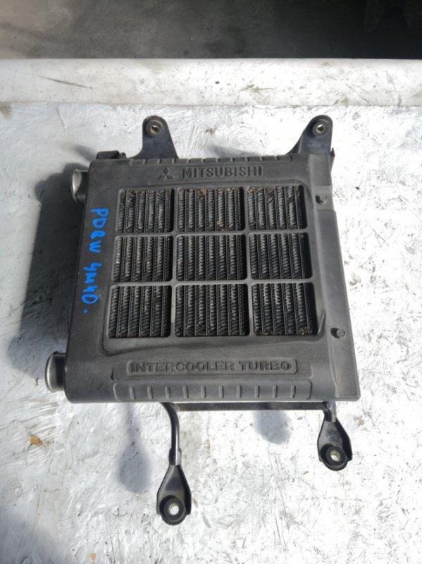 Радиатор интеркулера Mitsubishi Delica PD8W 4M40 (б/у)