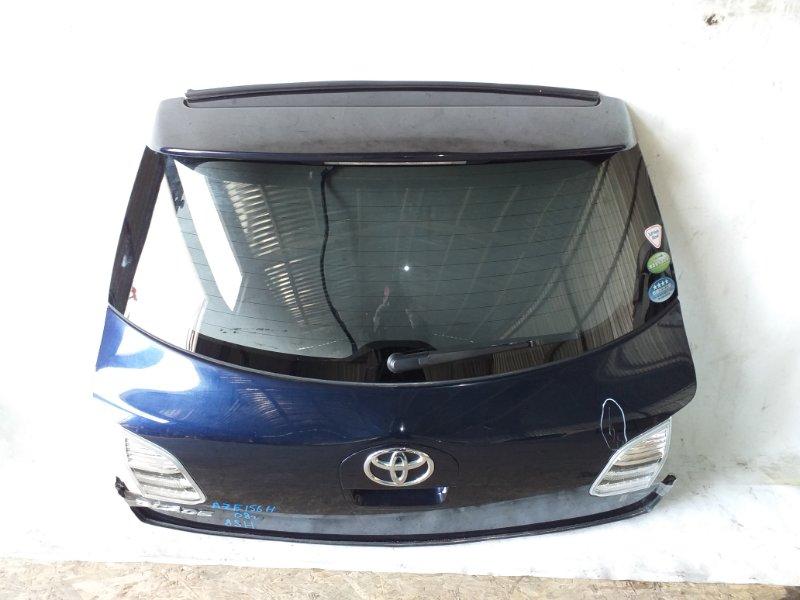 Дверь задняя Toyota Blade AZE156 2AZ-FE 2008 задняя (б/у)