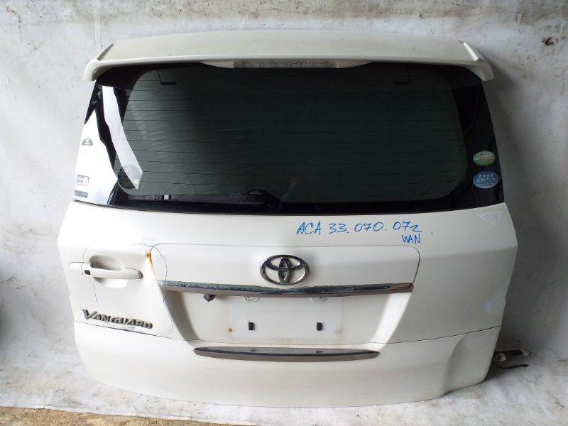 Дверь задняя Toyota Vanguard ACA33 2007 задняя (б/у)