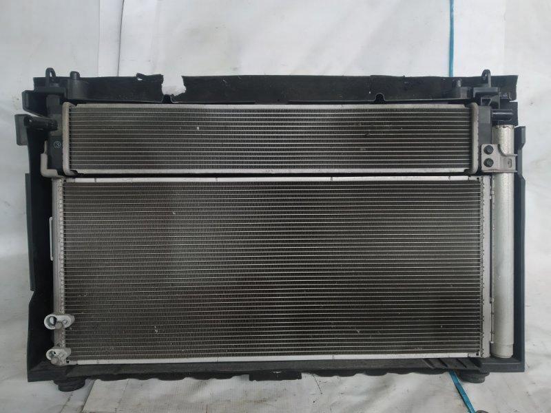 Радиатор двс Toyota Sai AZK10 2AZ-FXE 2011.07 (б/у)
